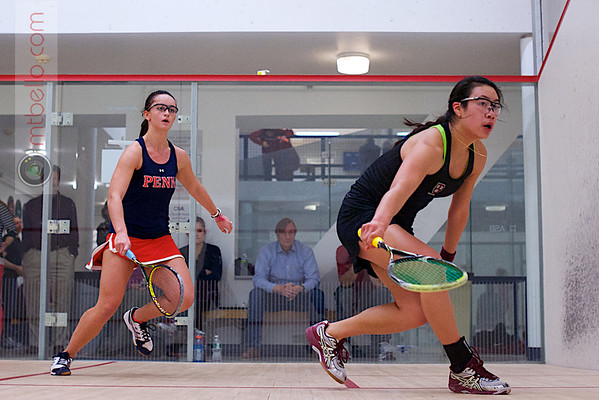 2012 Ivy League Scrimmages:Sarah Mumanachit (Harvard) and Camille Lanier (Penn)