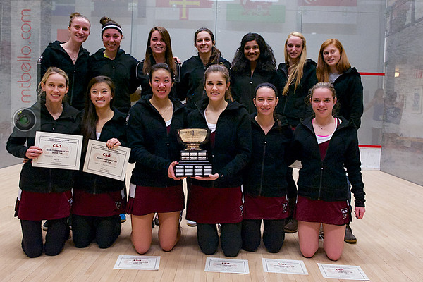 2012 Women's National Team Championships: Harvard