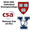 2010 CSA Individuals - Ramsay Cup (Div A) Semis: Laura Gemmell (Harvard) and Logan Greer (Yale)