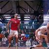 2013 College Squash Individual Championships: Amr Khaled Khalifa (St. Lawrence) and Ali Farag (Harvard)<br /> <br /> Published on page 25 of Squash Magazine (December 2013)