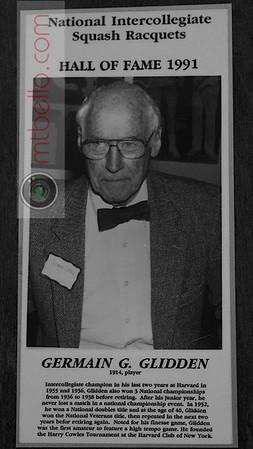 Men's College Squash Hall of Fame: Germain Glidden