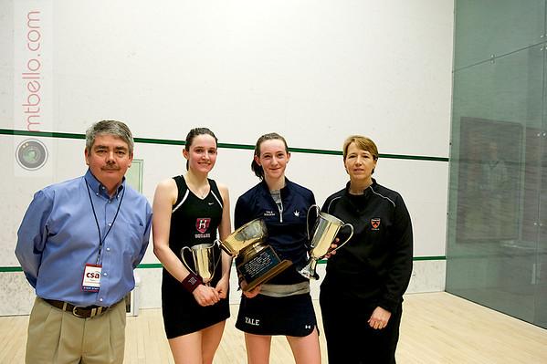 Craig Thorpe-Clark,  Millie Tomlinson (Yale), Laura Gemmell (Harvard), and Gail Ramsay (Princeton)