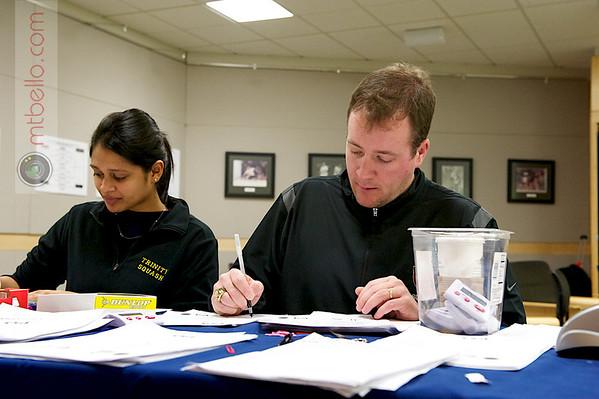 Tehani Guruge (Trinity) and Chris Smith (Harvard)