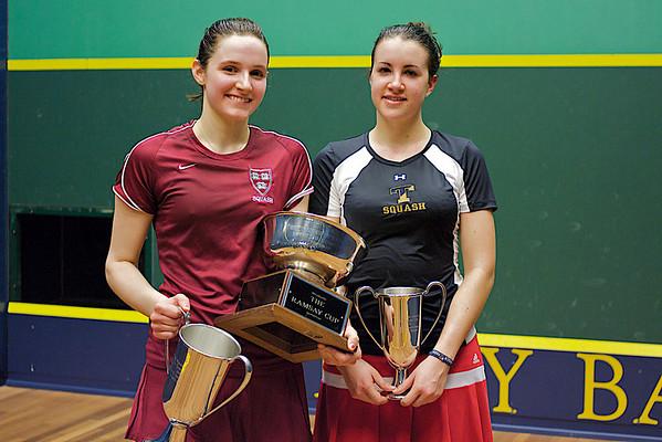 Pamela Hathway (Trinity) and Laura Gemmell (Harvard)