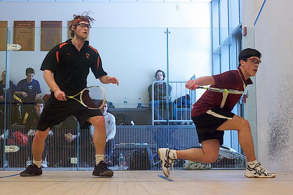 Zeke Scherl (Harvard) and Chris Callis (Princeton)