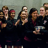 Harvard Celebrates the 2009 - 2010 National Championship (Howe Cup)<br /> <br /> Published on page 10 of the 2011 Women's College Squash Association National Team Championship Program.
