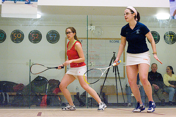 Elle De Moll (Haverford) and Annie Tickell (Columbia)