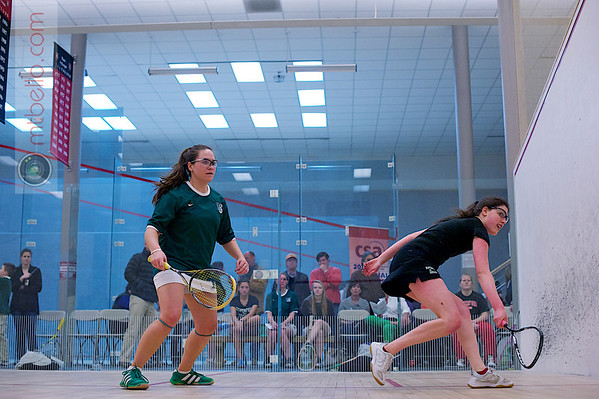 2012 Women's National Team Championships (Howe Cup): Courtney Leous (William Smith) and Zoe Becker (Haverford)