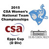 2015 WCSA Team Championships - Epps Cup: Paige Dahlman (Tufts) and Bethany Simmonds (Haverford)