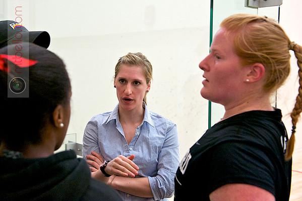 2012 Pioneer Valley Invitational: Haverford coach Nikki Clement