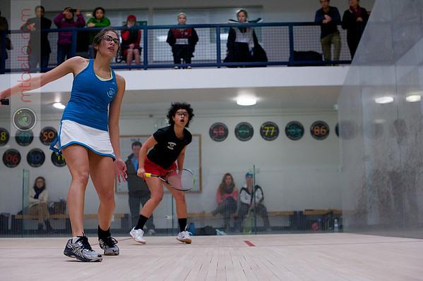 2013 Women's National Team Championships: Ushashi Basu (Tufts) and Alexandra Love (Haverford)