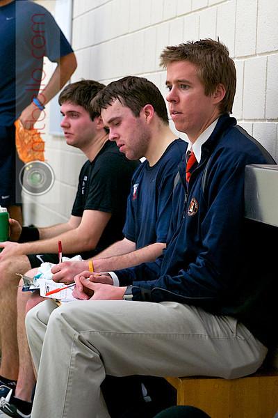 2012 Pioneer Valley Invitational: Hobart Coach Tim Riske