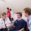 2012 Men's College Squash Association National Team Championships: Corey Kabot, McGee O'Neil, Tim Riskie