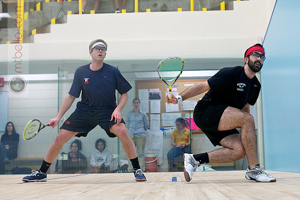2012 Pioneer Valley Invitational: Corey Kabot (Hobart) and Alex Spiliotes (Haverford)
