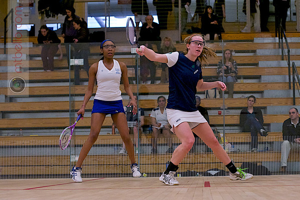 2012 Women's National Team Championships (Howe Cup): Lindsay Becker (Middlebury) and Gabrielle Robinson-Harris (Franklin & Marshall)