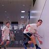 2013 NESCAC Championships: William Moore (Middlebury) and Matthew Cooper (Bowdoin)