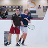 2012 Men's College Squash Association National Team Championships: Jay Dolan (Middlebury) and Kyle Ogilvy (St. Lawrence)