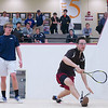 2012 Men's College Squash Association National Team Championships: Jay Dolan (Middlebury) and Kyle Ogilvy (St. Lawrence)<br /> <br /> Published on pages 32 - 33 of Squash Magazine (October 2012)