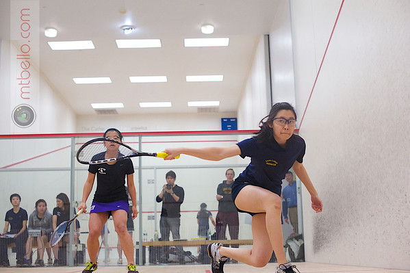2013 Women's National Team Championships: Jacqueline Zhou (Smith College) and Susan Lin (NYU)