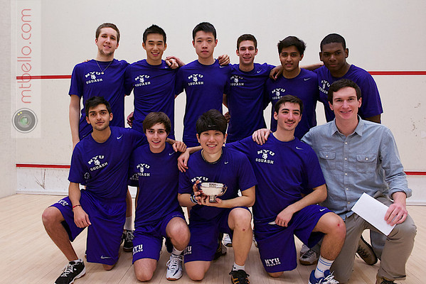 2013 Men's National Team Championships: (NYU)<br /> <br /> Published on page 47 of Squash Magazine (March/April 2013)