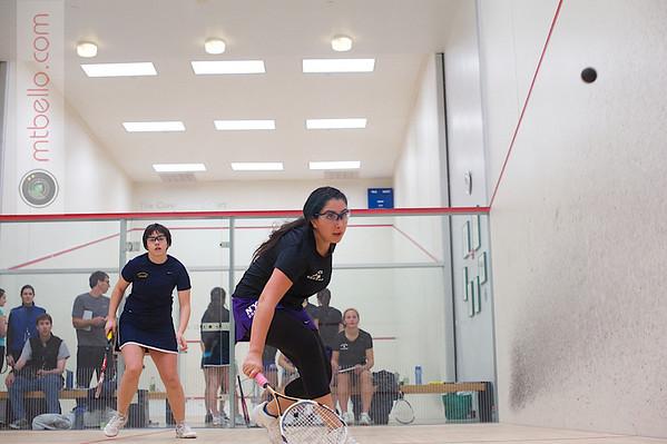 2013 Women's National Team Championships: Szilvi Kiss (Smith College) and Michelle Yagnatovsky (NYU)