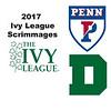 2017 Ivy League Scrimmages: Marwan Mahmoud (Penn) and Brandon De Otaduy (Dartmouth)