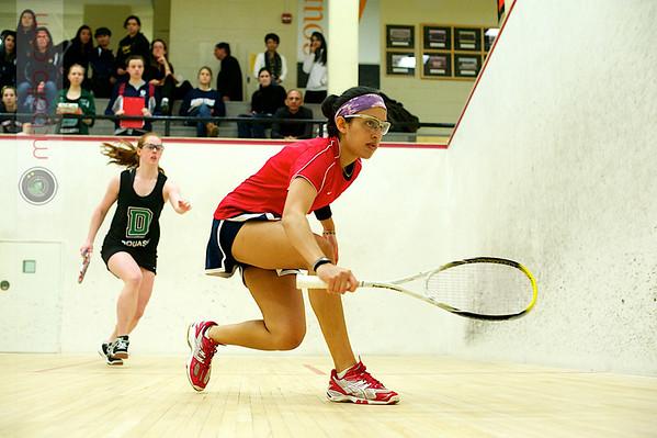 Pia Trikha (Penn) and Sarah Loucks (Dartmouth)