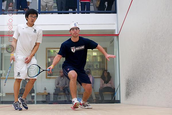 John Dudzik (Penn) and Luke Lee (Dartmouth)  - 2011 Ivy League Scrimmages