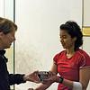Nabilla Ariffin (Penn) and Gail Ramsay(Princeton)