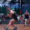 2013 College Squash Individual Championships: Amanda Sobhy (Harvard) and Yan Xin Tan (Penn)