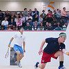 2012 Men's College Squash Association National Team Championships: Danny Greenberg (Penn) and Tony Zou (Columbia)