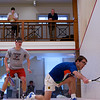 2012 College Squash Individual Championships: Richard Dodd (Yale) and Thomas Mattsson (Penn)