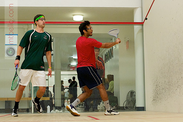 Ted Schroeder (Dartmouth) and Akhilesh Nayak (Penn)