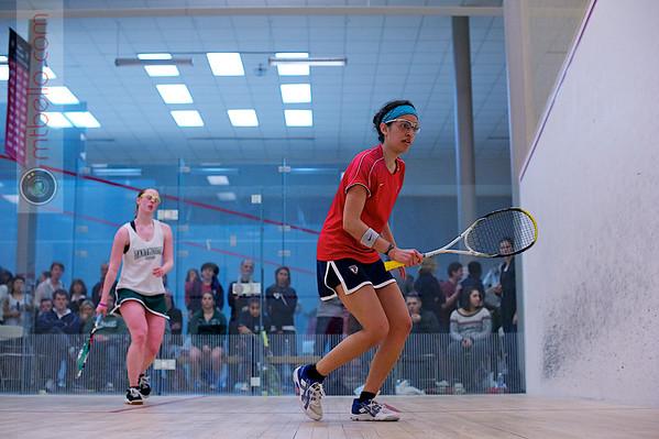 2012 Women's National Team Championships (Howe Cup): Pia Trikha (Penn) and Sarah Loucks (Dartmouth)