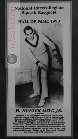 Men's College Squash Hall of Fame: Hunter Lott