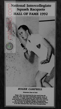 Men's College Squash Hall of Fame: Roger Campbell