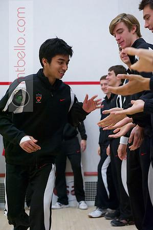 2012 Men's College Squash Association National Team Championships: Samuel Kang (Princeton)
