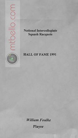 Men's College Squash Hall of Fame: William Foulke
