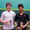 2013 College Squash Individual Championships: Vivek Dinodia (Princeton) and Blake Reinson (Brown)