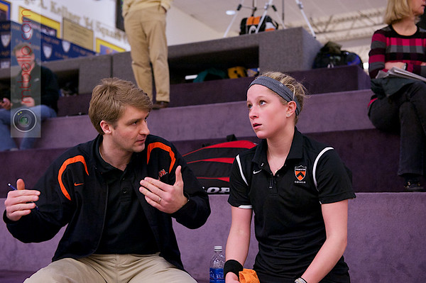 2013 College Squash Individual Championships: Gavin Johnstone-Butcher and Alexis Saunders (Princeton)
