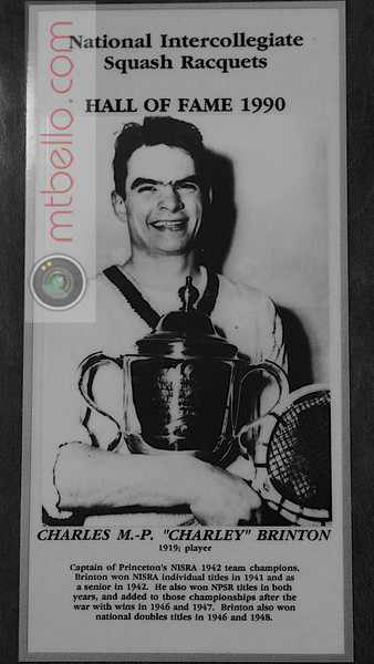 Men's College Squash Hall of Fame: Charles Brinton