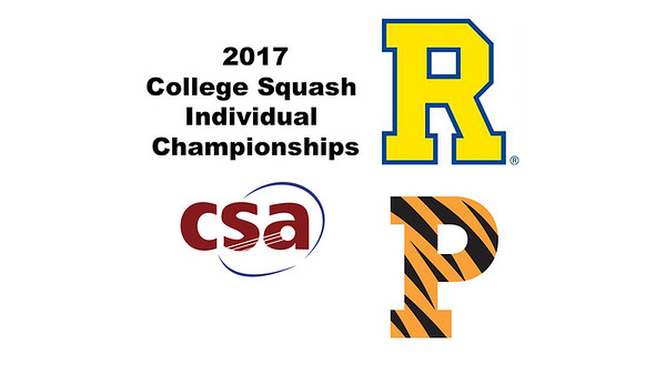 2017 CSA Individual Championships - Pool Trophy: Ryosei Kobayashi (Rochester) and Adhitya Raghavan (Princeton)