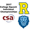 2017 CSA Individual Championships - Pool Trophy Final: Osama Khalifa (Columbia) and Mario Yanez (Rochester)
