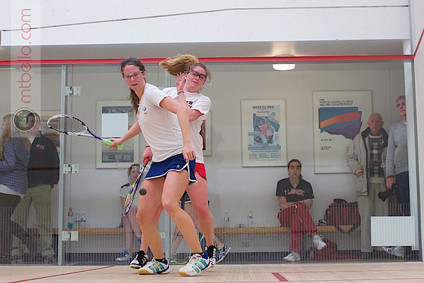 2013 Women's National Team Championships: Lindsay Kolowich (Georgetown) and Cordelia McHugh (St. Lawrence)