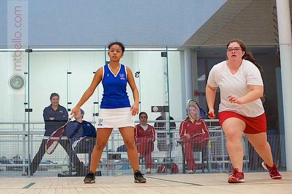 2012 Dartmouth Fall Classic: Carolyn Fisher (St. Lawrence) and Jazmin Matos (Franklin & Marshall)