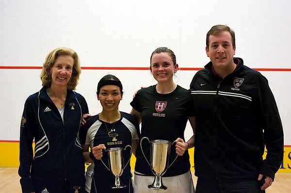 Wendy Bartlett (Trinity), Jo-Ann Jee (Trinity) Katherine O'Donnell (Harvard), and Chris Smith (Harvard)