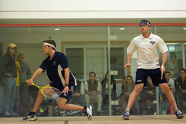 Reinhold Herget (Trinity) and Chris Plimpton (Yale)