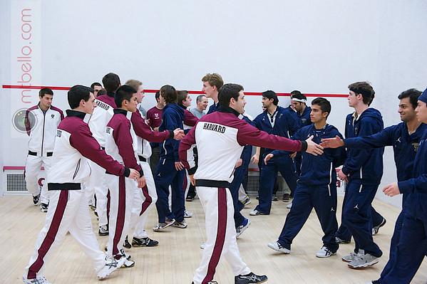 2012 Men's College Squash Association National Team Championships: Harvard and Trinity
