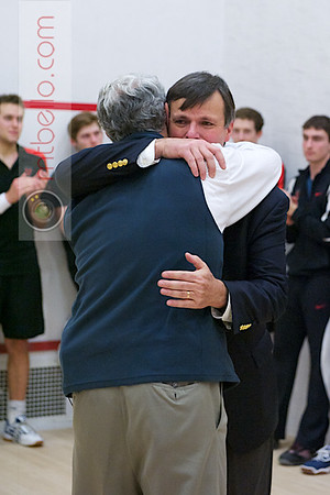 2012 Men's College Squash Association National Team Championships: Paul Assaiante (Trinity) and Bob Callahan (Princeton)