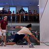 2012 College Squash Individual Championships: Ali Faraq (Harvard) and Antonio Diaz Glez (Trinity)
